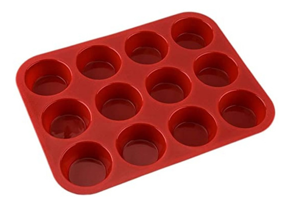 Molde Para Muffins - Cupcakes Silicona / Lauacu