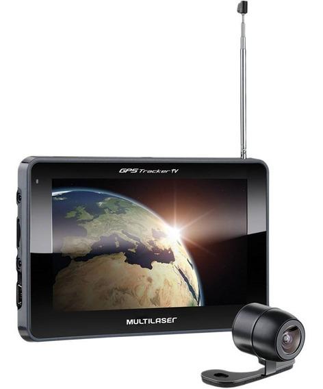 Gps Multilaser Tracker 3 Gp039 7 Com Câmera Ré Tv Digital