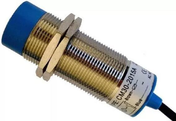 Sensor Capacitivo Não Faceado 30mm 6~36vcc - Cm30 3015pa