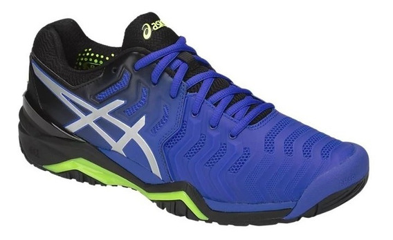 Tênis Asics Gel Resolution 7 Illusion Blue All Court Tennis
