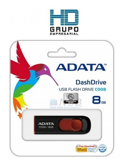 Pen Drive Adata 8gb En Blister Sellado