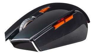 Mouse Gamer Noganet Nemesis Usb Dorado 3200 Dp Ultrapolling