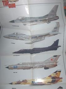 Poster Top Gun Famosos Aviões De Guerra
