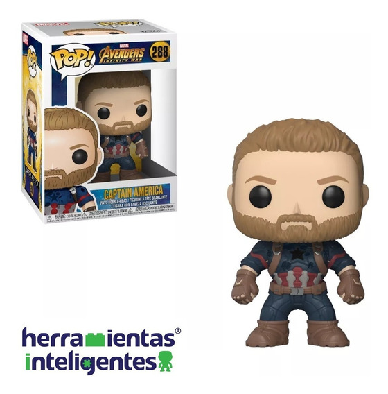 Capitán América Infinity War Funko Pop Avengers Marvel