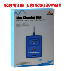 Maxshooter One 2019 Teclado Mouse Ps3 Ps4 Xbox 360 One Usb