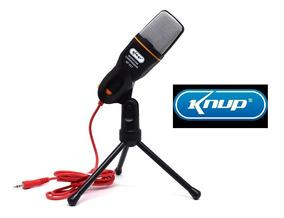 Microfone Multimídia Alta Sensibilidade Condensador Pc
