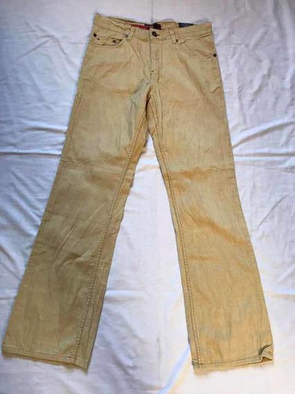 Pantalón Tommy Hilfiger Nuevo Pana 34x34 #294