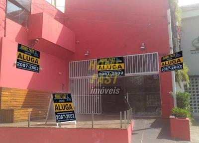 Salão Para Alugar, 128 M² Por R$ 8.000/mês - Macedo - Guarulhos/sp - Sl0229