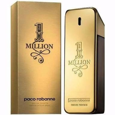 Paco Rabanne 1 Million Masculino Eau De Toilette 100ml