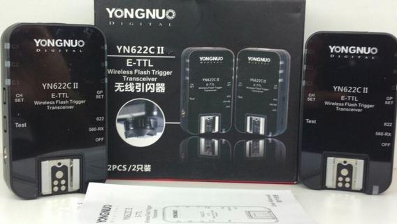 2 Radio Flash Trigger Yongnuo Yn622c Ii Ttl E-ttl Para Canon