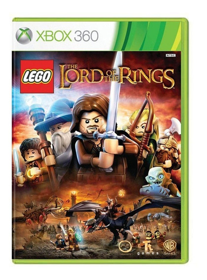 Lego The Lord Of The Rings - Xbox 360 - Usado - Original