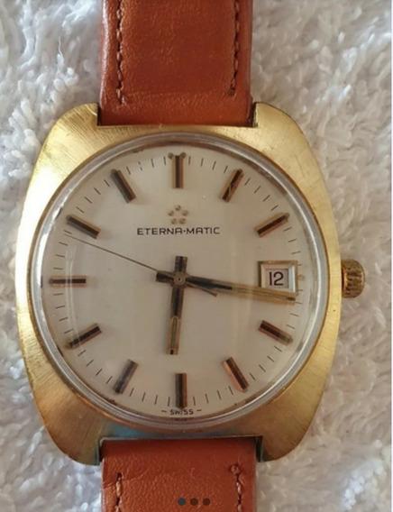 Relógio Antigo Eterna Matic Revisado