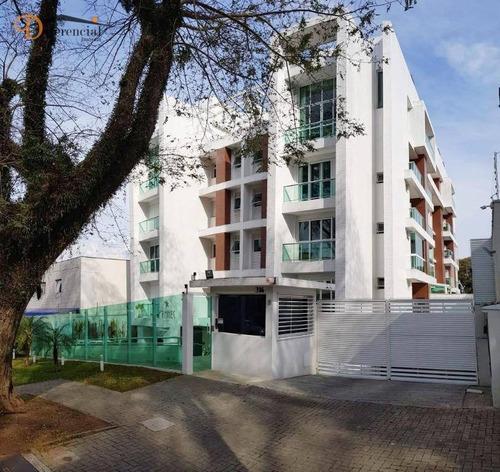 Cobertura À Venda, 130 M² Por R$ 1.147.105,26 - Água Verde - Curitiba/pr - Co0116