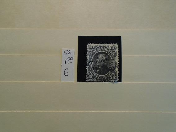 Estampillas México 1 Antiguo Sello.eu 1,50.impecable.