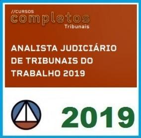 Analista Tribunais Do Trabalho (tst, Trt) 2019