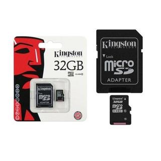 Cartao De Memoria Kingston 32gb Clase 10 Micro Sd Original