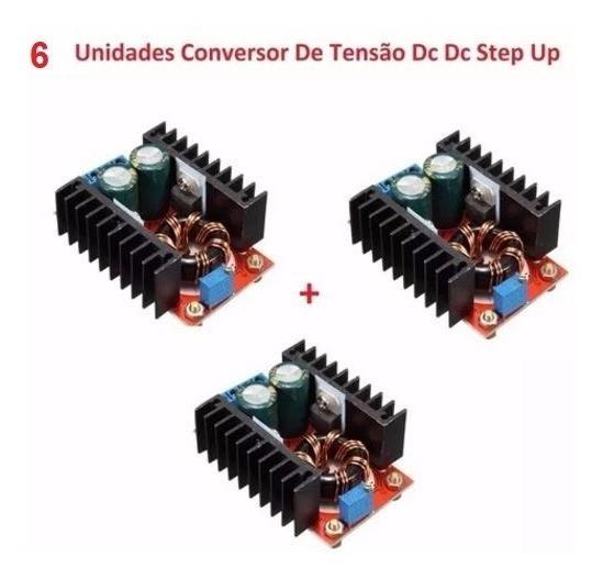 6 Unidades Conversor Step-up Regulador Tensão 150w,12v A 35v
