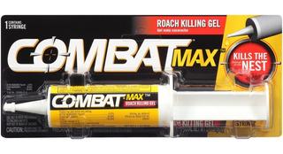 Gel Combat Chiripas Y Cucarachas 60g (original De Walmart)
