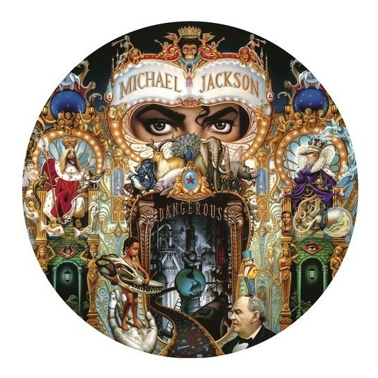 Michael Jackson Dangerous Vinilo Lp Us Import