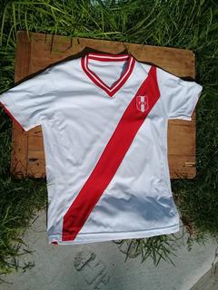 Camiseta De Peru Original Num 18