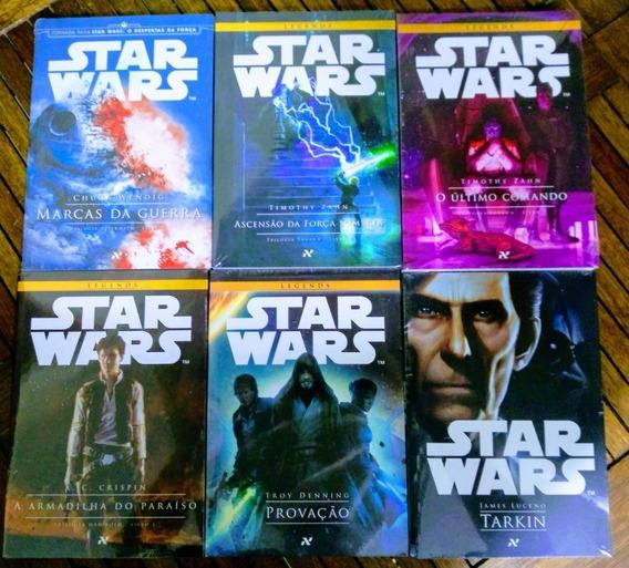 Kit Livros Star Wars 6 Livros - Novos E Lacrados