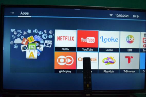 Smart Tv Led 32 Toshiba Hd, 3 Hdmi, 2 Usb- Com Garantia