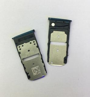 Moto Z3 Play Bandeja Porta Sim Dual Azul+envio Gratis