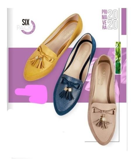 Zapato Mostasa/marino/maquillaje Six Pack 432 Cklass 1-20 D