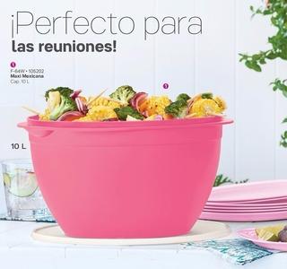 Maxi Bowl Tazón Mexicana Tupperware Rebajas 10 Lt