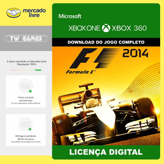 F1 2014 Digital Xbox 360 Xbox One