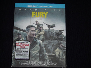 Blu Ray Fury / Corazones De Hierro ( Masterizada 4k)