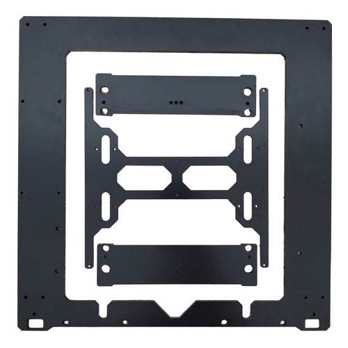 Marco Impresora Prusa I3 Acero Negro 6mm :: Printalot