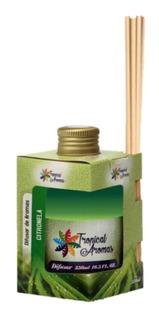 Aromatizador Difusor De Aromas Aroma Citronela Com Vareta