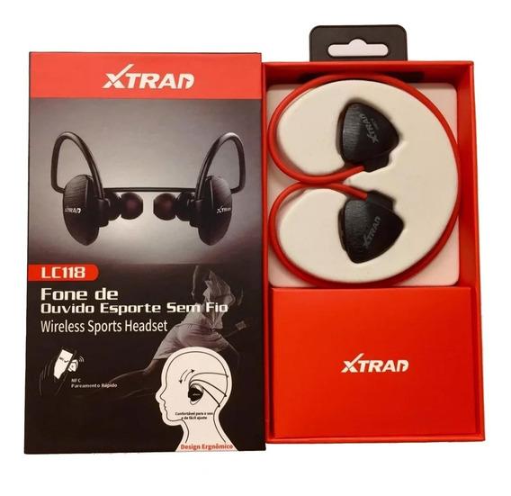 Fone Ouvido Headset Xtran Sports Lc118 Bluetooth Sem Fio