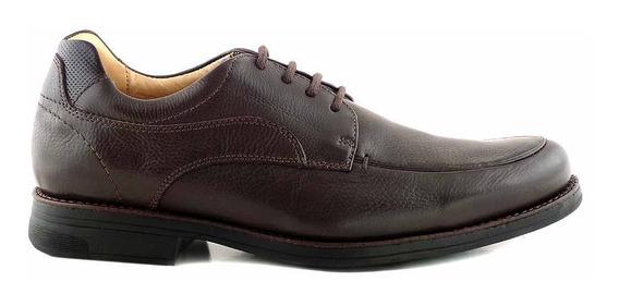 Zapato Cuero Hombre Anatomico Goma Confort Vestir Hcac00893