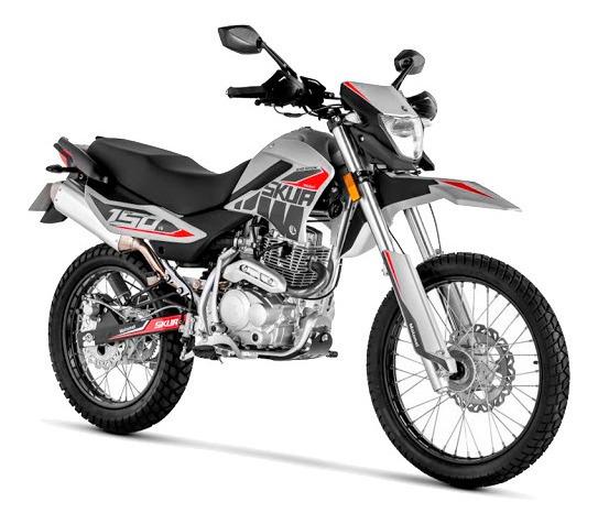 Motomel Skua 150 Silver 0km 2020 Con Casco - Motos 32