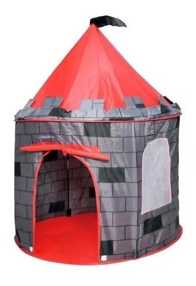 Super Cabana Infantil Castelo Torre Meninos Grande Nova