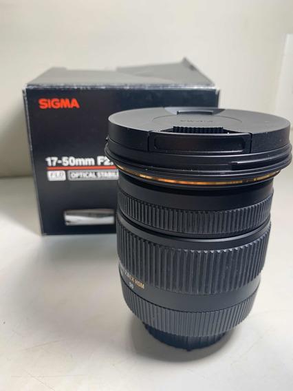 Lente 17-50mm F2.8 Ex Dc Os Nikon