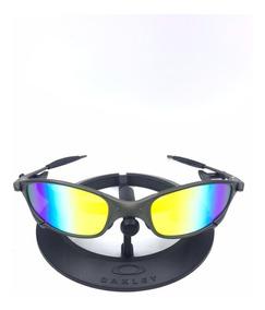 Oculos Oakley Juliet Arco-íris + Certificado+teste+chaves