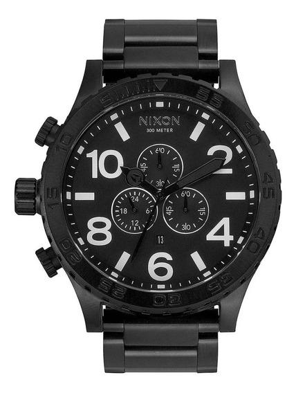 Relógio G0434 Nixon Black Pulseira Aço C/ Caixa