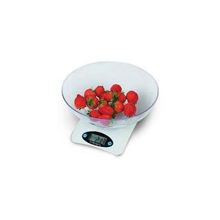 Balanza Digital De Cocina Con Bowl (0-3 Kg) Via Cheff Ec301r