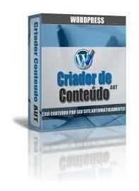 Plugin Wordpress Criador De Conteúdo Automático + Brindes