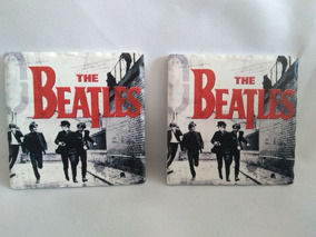 2 Porta Copos Dos Beatles Em Ceramica Armcoz