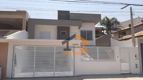 Casa Com 3 Dormitórios À Venda Por R$ 795.000,00 - Giardino D  Itália - Itatiba/sp - Ca1208
