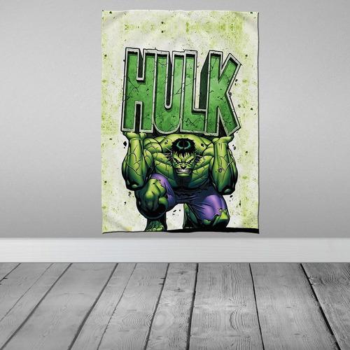 Imagem 1 de 3 de Stompy Tecido Decorativo Decoração Hulk Decoração