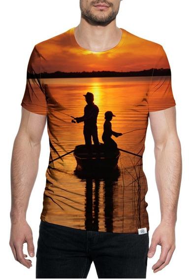 Camiseta Camisa Pescaria Pesca Uv50 Rio Isca Carretilha Pcp