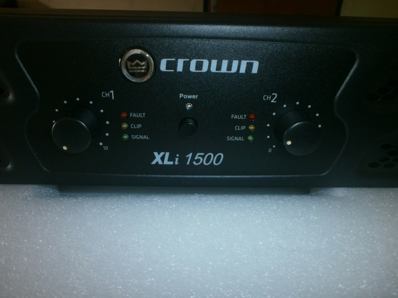 Power Amplificador Crown Xli 1500
