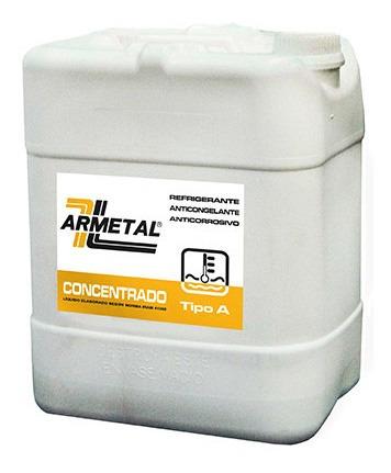 Imagen 1 de 2 de Liquido Anticongelante Armetal 20 Litros Amarillo  Permanent