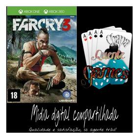 Far Cry 3 Digital Compartilhado + Brinde 2 Jogos Re4 X360