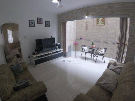 Sobrado Com 3 Dormitórios À Venda, 255 M² Por R$ 875.000 - Vila Assis Brasil - Mauá/sp - So0127